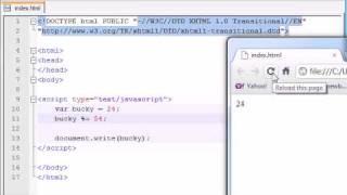 Beginner JavaScript Tutorial - 13 - Assignment Operators thumbnail