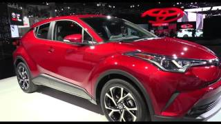 2018 Toyota C-HR Release Date Price and Specs
