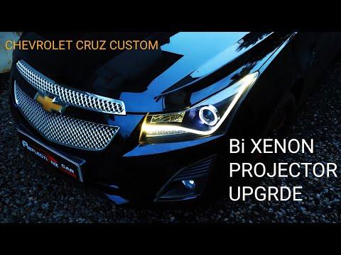 Chevrolet Cruz Aftermarket Headlight Projector Swapped || Bixenon Projector