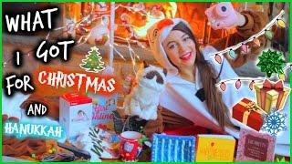 What I Got for Christmas + Hanukkah 2014!