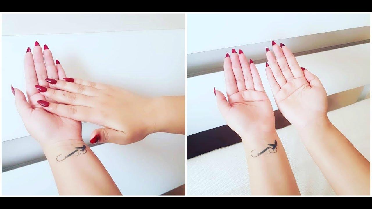 ليدين كسندريلا بيضاء كبياض الثلج من اول استعمال جربي واحكمي بنفسك  Homemade Hand Whitening DIY