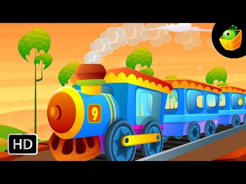 Engine Number Nine - English Nursery Rhymes - Cartoon/Animated Rhymes For Kids