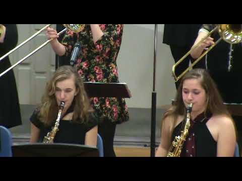 Bill Bailey - George Stevens Academy Jazz Band 2018