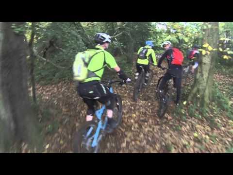 Woodbury common, single track - mountain biking