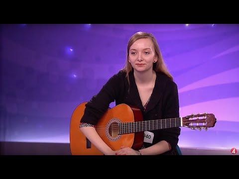 Lina Zetteberg - Seven Things av Miley Cyrus (hela audition) - Idol Sverige (TV4)