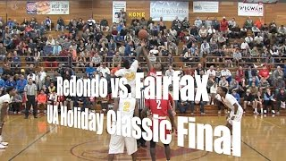 Redondo Union vs. Fairfax, UA Holiday Classic Championship, 12/30/14