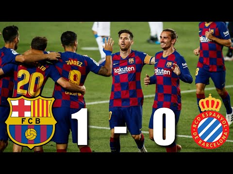 Barcelona vs Espanyol [1-0], La Liga, 2020 - MATCH REVIEW