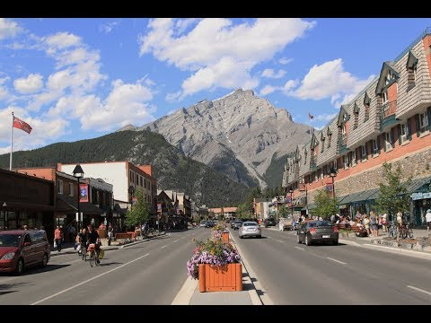 Downtown Banff, Alberta, Canada