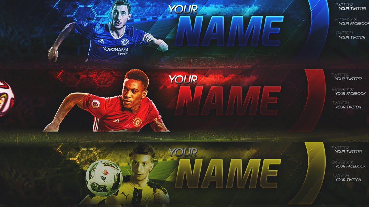 Fifa 17 Banner Templates Now Available Man U Chelsea And