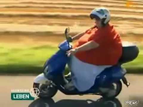 Fat Guy On Bike Youtube
