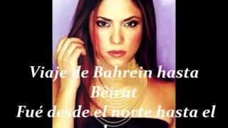 Shakira Ojos Así Letra