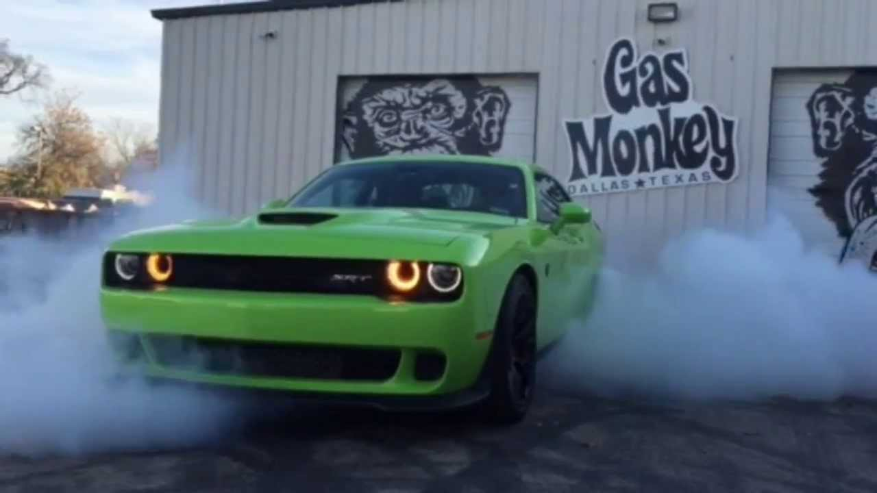 Richard Rawlings Test Drive Of 2015 Dodge Challenger Hellcat Gas Monkey Garage Youtube