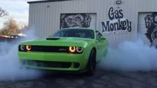 Richard Rawlings Test Drive of 2015 Dodge Challenger Hellcat - Gas Monkey Garage