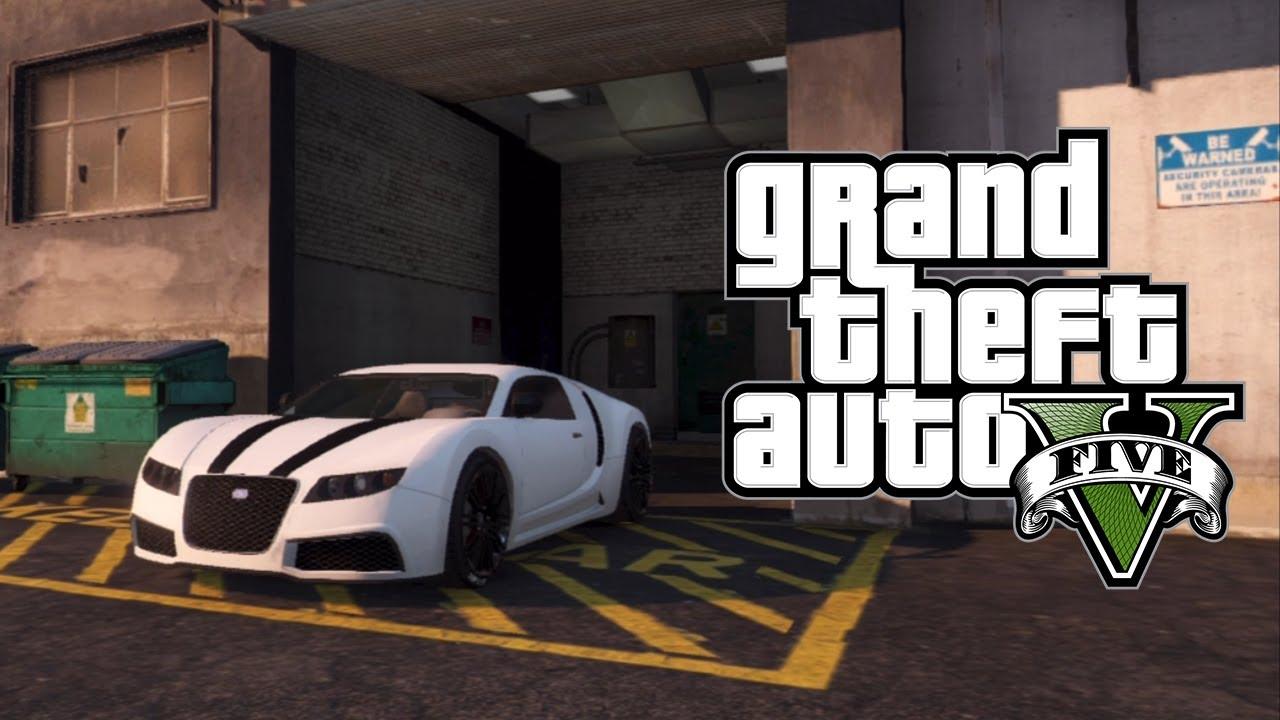 Gta 5 online secret hidden garage locations dlc heist for Garajes gta v online