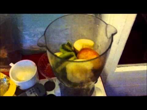 Рецепт натурального фруктового коктейля