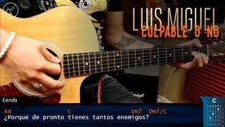 Como tocar Culpable o no LUIS MIGUEL | Guitarra Tutorial Christianvib