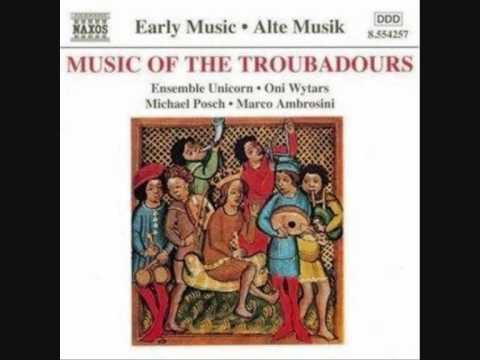 Music of the Troubadours - Can vei la lauzeta mover (written by Bernard de Ventadour)