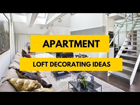 65+ Beautiful Loft Apartment Decorating Ideas in 2019