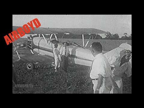 Travel Air C-4000 NC387M Home Film (silent)