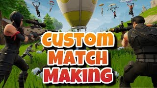 FORTNITE VBUCKS GIVEAWAY / CUSTOM MATCHMAKING WITH SUBSCRIBERS LIVESTREAM!!!!