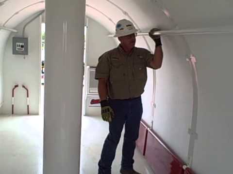 Mobile Tornado Shelters - The Safe Operation Of The RED DOG CREWSAFE During Severe Weather