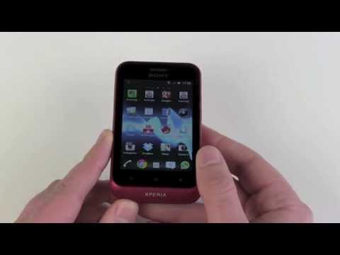 Sony Xperia tipo Test