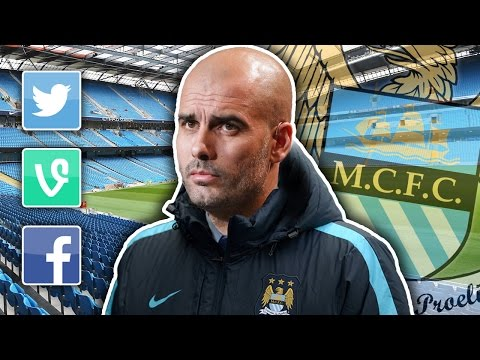 Pep Guardiola joins Manchester City | Internet Reacts
