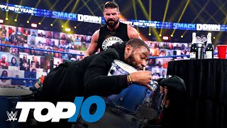 Top 10 Friday Night SmackDown moments: WWE Top 10, Jan. 1, 2021