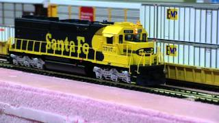 Athearn Genesis Santa Fe SD45-2 #5707 with Tsunami Sound
