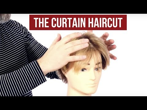 How to Achieve the Curtains Haircut - TheSalonGuy