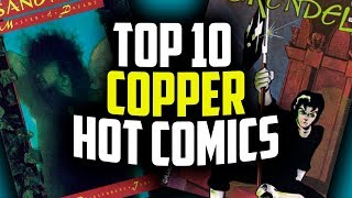 Top 10 ALL TIME COPPER AGE Comic Books - Overstreet 48th Edition 2018