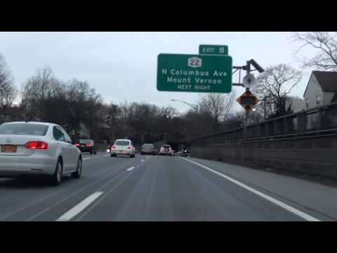 Drive through Westchester County, New York