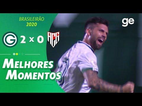 GOIÁS 2 X 0 ATLÉTICO-GO | MELHORES MOMENTOS | 5ª RODADA BRASILEIRÃO 2020 | ge.globo