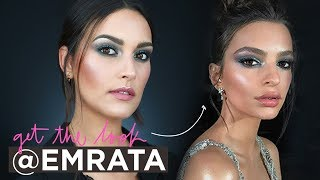 GET THE LOOK: EMILY RATAJKOWSKI GREEN SMOKEY EYES | PAU FLORENCIA