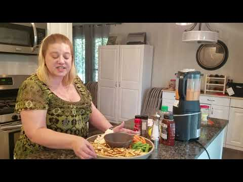 Cooking with Dawn-Pampered Chef Roasted Red Pepper & Walnut Dip