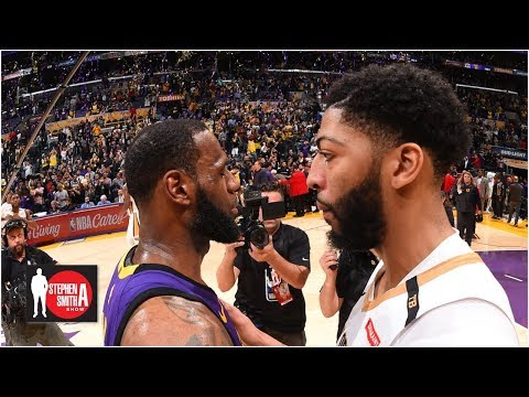 Anthony Davis\' desire to join Lakers grew after NBA Finals - Brian Windhorst | Stephen A. Smith Show