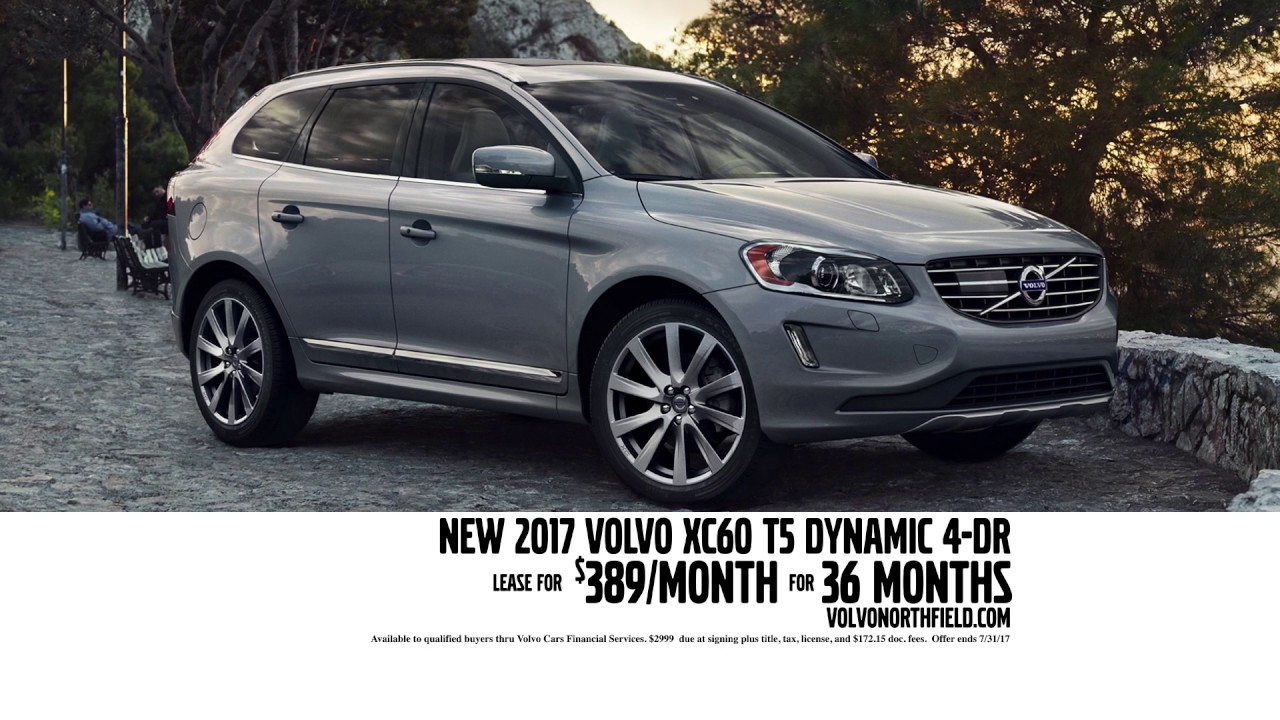 Lease A New 2017 Volvo Xc60 T5 Dynamic 4 Door Become A Member Of