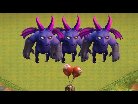 Clash of Clans -  Air Bomb vs Minions Epic Fail