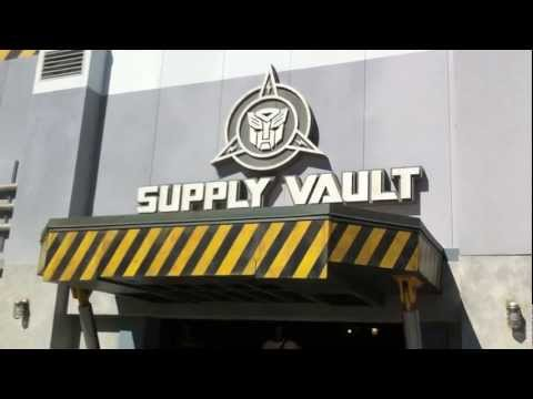 Transformers Store Opens At Universal Orlando - Supply Vault Opens Before Attraction