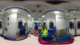 Meerijden met AZRR: Spoedrit in de ambulance (achterin)