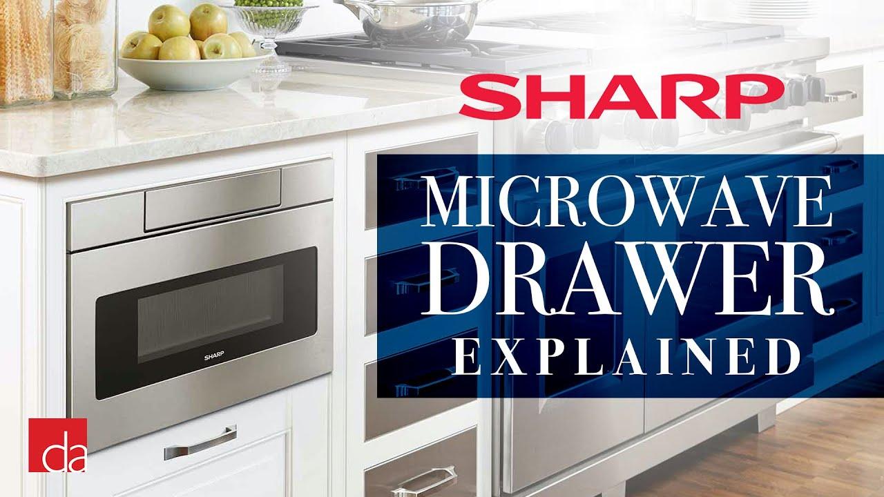 sharp microwave drawers youtube