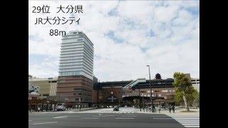 各都道府県で二番目に高いビルランキング