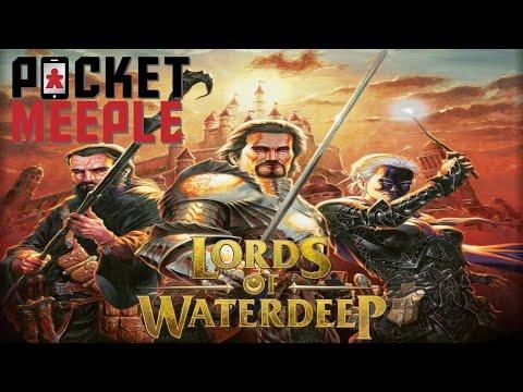 Lords of Waterdeep (iOS) - Pocket Meeple Plays