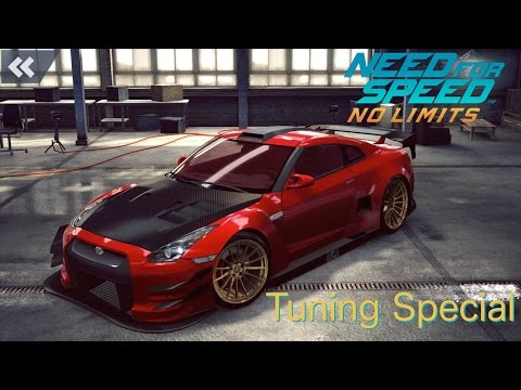 [Nissan GT R R35 Tuning] Need For Speed - No Limits [1080p / FullHD]