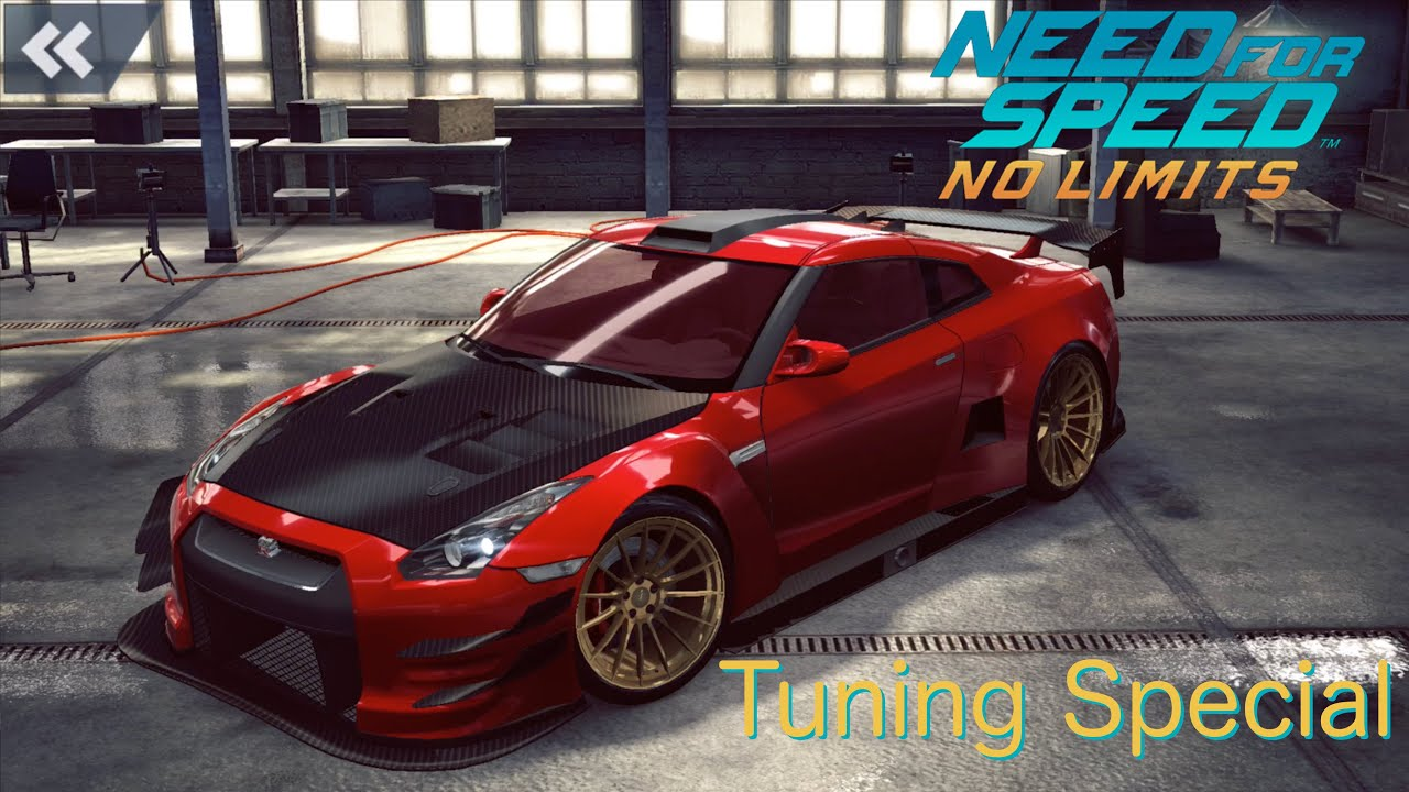 [Nissan GT R R35 Tuning] Need for Speed - No Limits [1080p ...