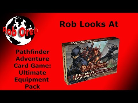 Pathfinder Adventure Card Game Ultimate Equipment Add On Deck