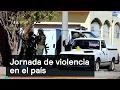 Jornada de violencia en el país - Inseguridad - Denise Maerker 10 en punto