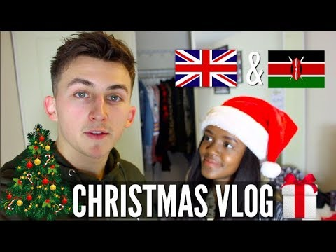 OUR FIRST CHRISTMAS VLOG I KENYAN AND U.K STYLE I MEET BOTH FAMILIES