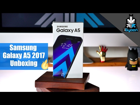 Samsung Galaxy A5 2017 Unboxing + Hands On First Look