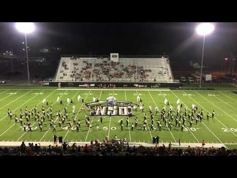Tahlequah High School Orange Express halftime performance 9-14-18